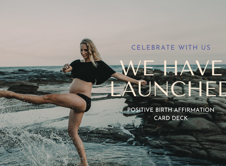Best Birth co.'s Positive Birth Affirmation Card Deck Now Available
