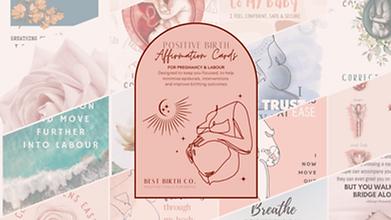 Best Birth Co Positive Birth Affirmation