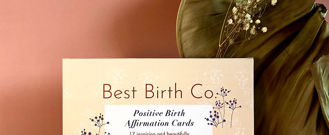 Positive Birth Affirmation Card Deck