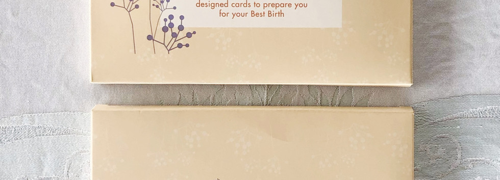 Positive Birth Affirmation Cards