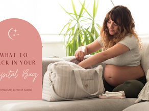 What to pack in your Birthing Hospital Bag?