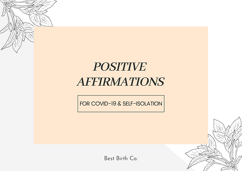 e-Cards | Affirmation Cards for COVID-19