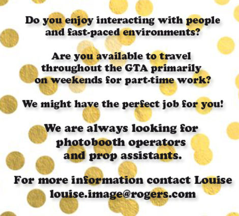 We Are Hiring - Photo Booth