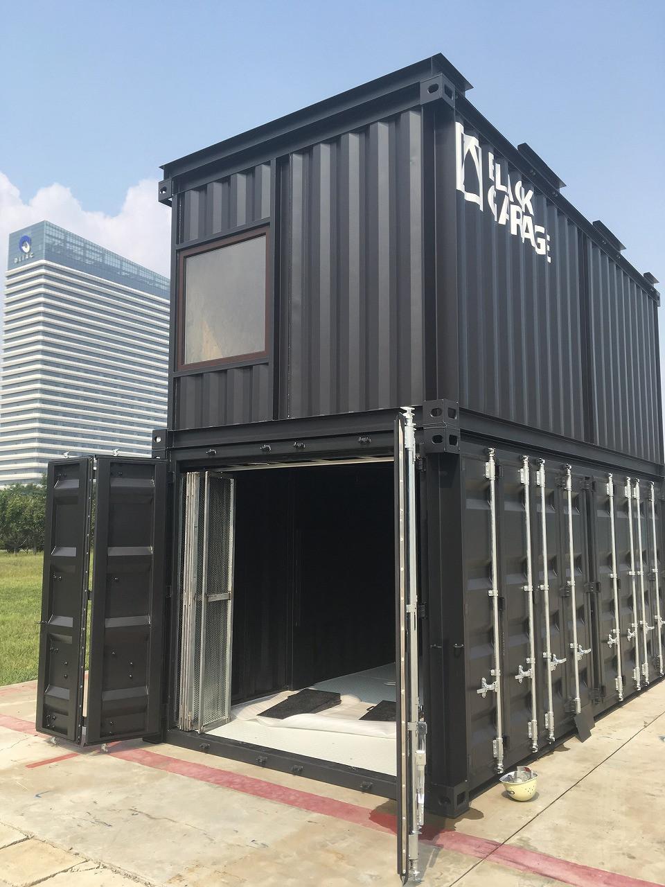 IDMobileのコンテナガレージ・コンテナハウス・ガレージハウス