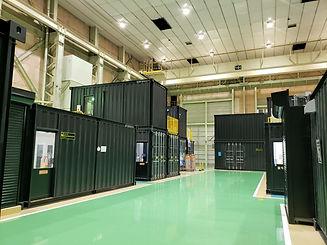三菱パワー金属3DプリンターショールームコンテナIDMobile.JPG