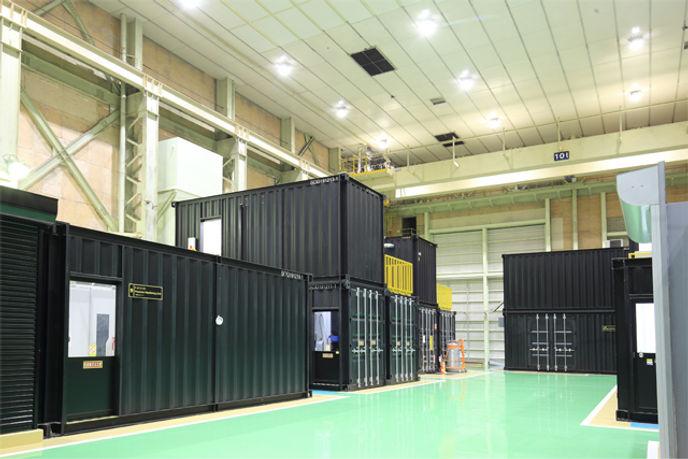 三菱パワー(株)AM-ZONE® 特殊装置ブースコンテナ/コンテナハウス