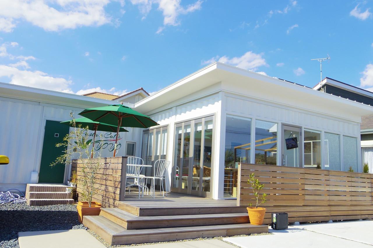 九十九里浜コンテナカフェ