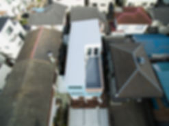 久里浜コンテナハウス屋根
