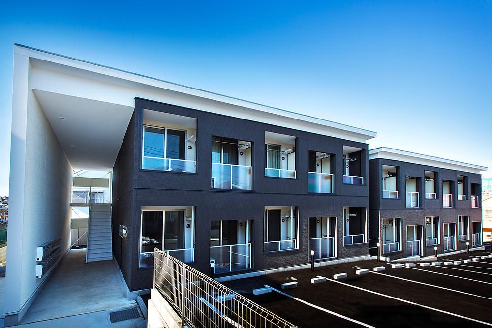 ブランシュエール白幡仲町、コンテナで建てたアパート、コンテナハウス賃貸IDMobile