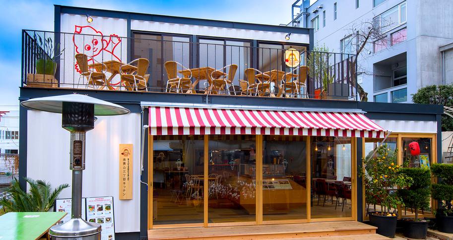 コンテナカフェ キューピーレストラン