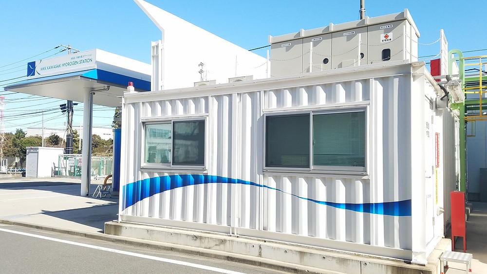 三菱化工機水素ステーション用コンテナIDMobile
