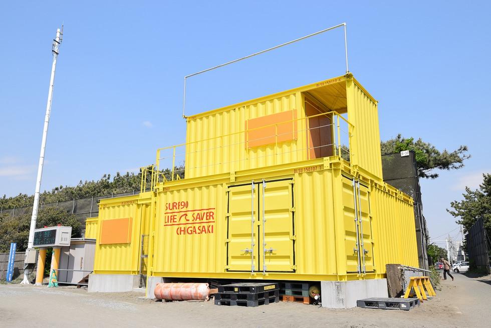 茅ヶ崎の海を守るコンテナ IDMobile