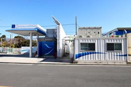 三菱化工機水素ステーション機械室用コンテナ