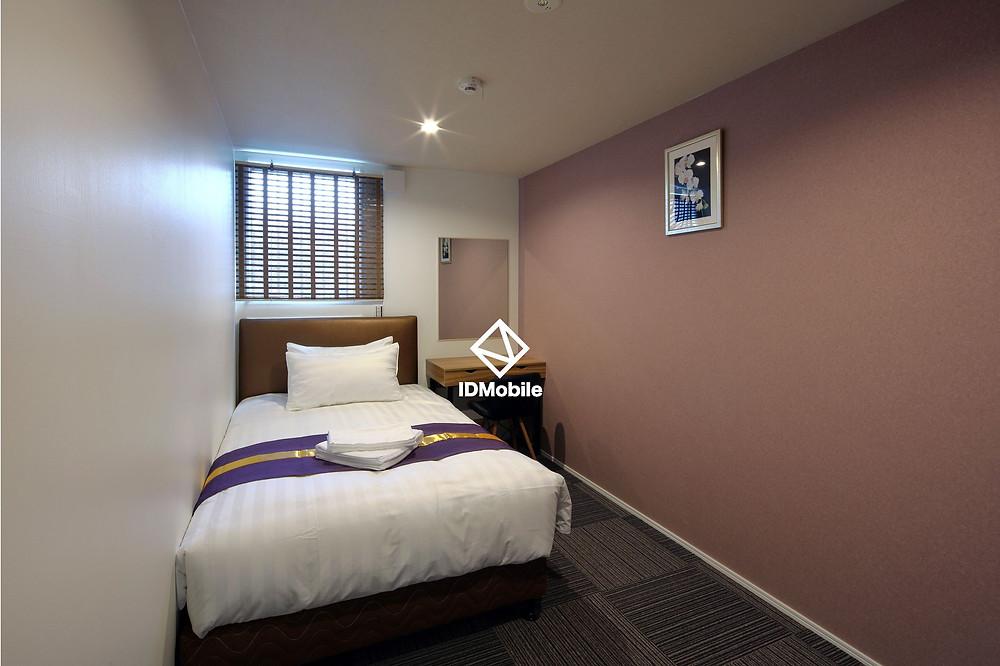 IDMobileゲストハウスタイプのコンテナハウス旅籠屋戎の客室
