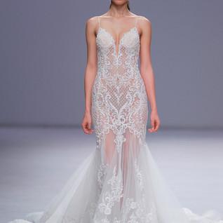 Barcelona Bridal Fashion Week - Demetrios - Maquillaje para MAC Cosmetics