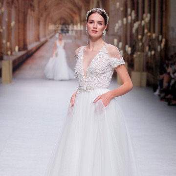 Barcelona Bridal Fashion Week - Inmaculada García - Maquillaje para MAC Cosmetics