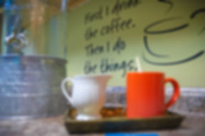 SOAR's kitchen is a favorite hangout. Coffee, fruit infused water and snacks are fuel the brain.