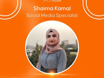 Meet our team: Shaima Kamal