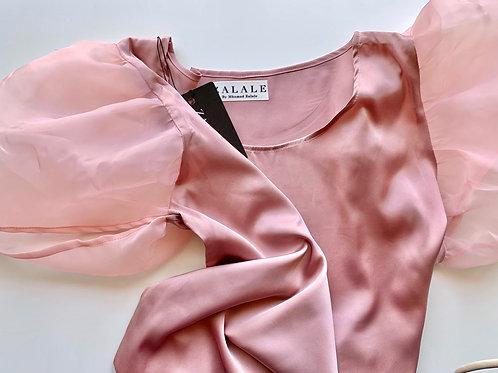 Pink Sleeve Shirt