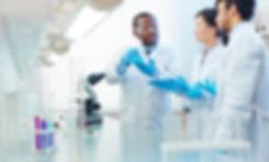 Male African-American laboratory scienti