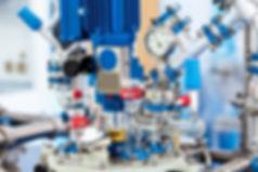 Basic Glass Reactor system for Pilot Pla