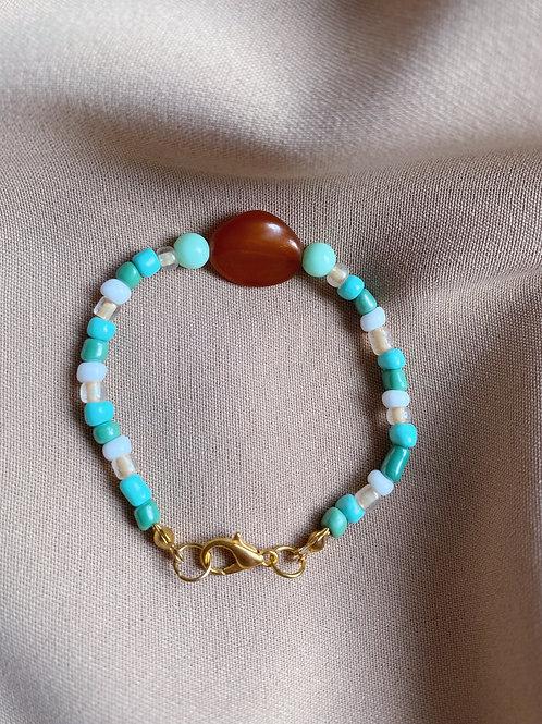 Bracelet de perles Jade