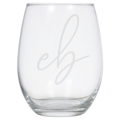 Elevation Boudoir Etched Wine Tumbler