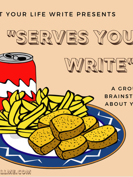 Get Your Life Write Presents...Serves YOU Write