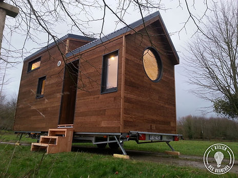 Tiny house scintillante