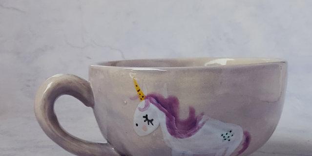 Unicorn breakfast bowl
