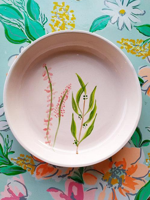 Serving Dish (pastel pink)