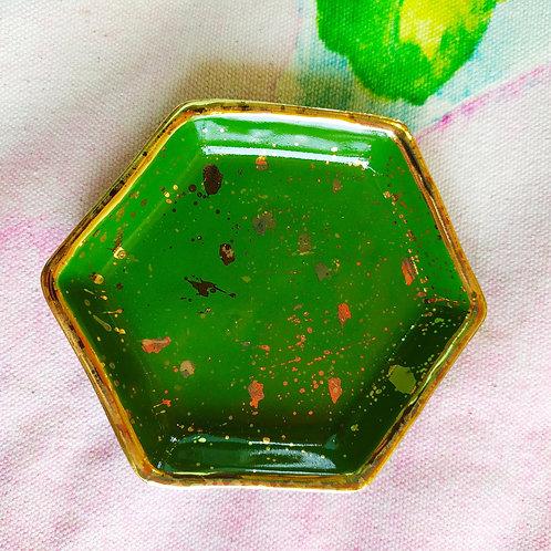 Hexgon trinket tray
