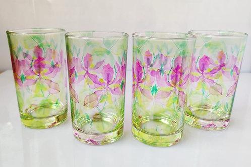 Bohimia glasses (set of 4)