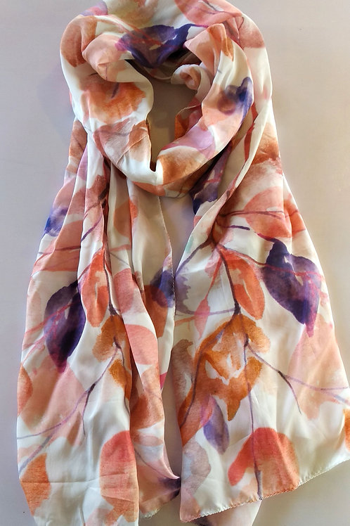 AUTUMN LEAVES SCARF