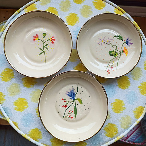 Salad bowl dishes set of 3