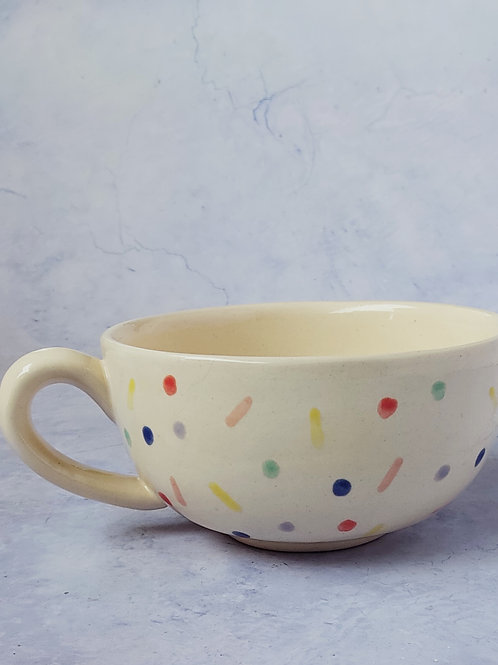 Dots and dashes breakfast bowl