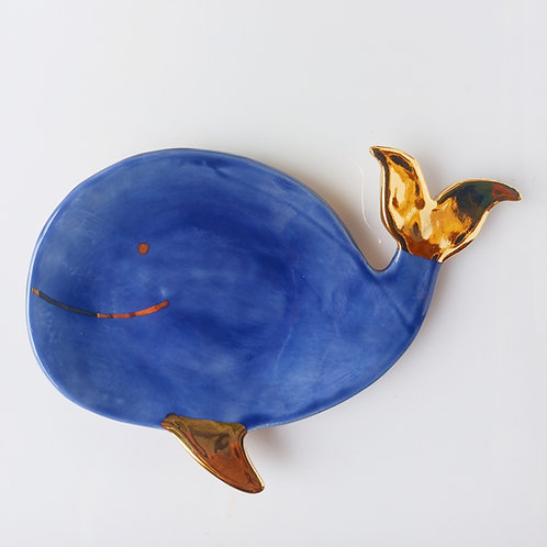 Tea Bag holder (whale)