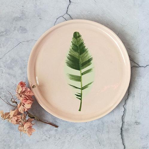 Leaf quater plate