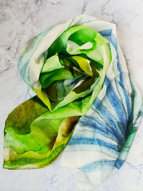MONSTERA LEAF  SCARF