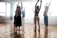 Cours de danse contemporain