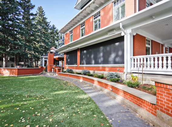 Brick Home Exterior Addition