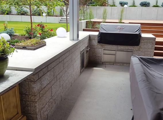 Tyndall Stone Outdoor Kitchen