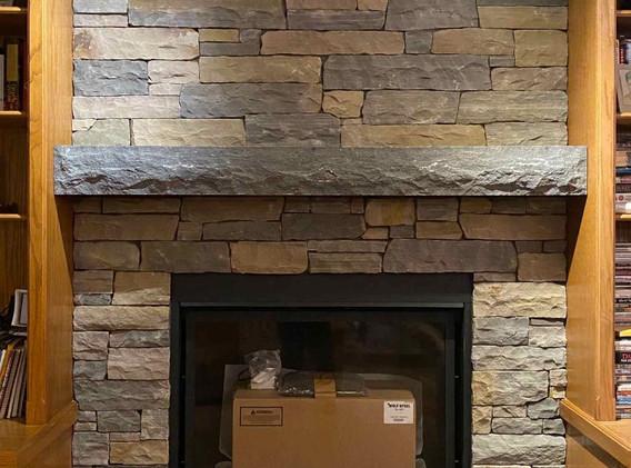Indoor Fireplace Renovation