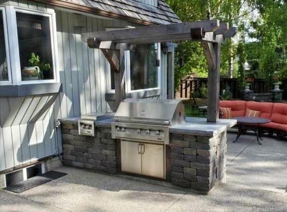 Outdoor Kitchen Repair