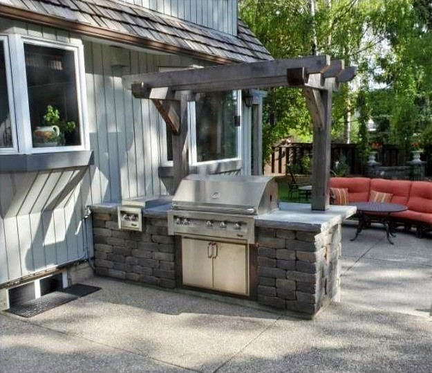 Outdoor Kitchen Repair