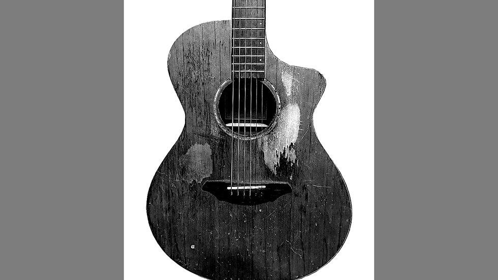 Molly Durnin Guitar Sticker