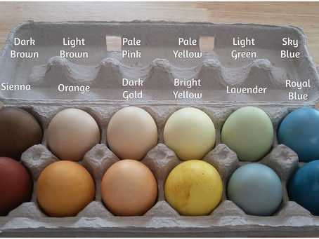 This Year, Colour Your Easter Eggs Naturally!