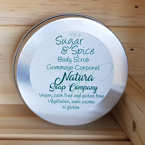 Sugar and Spice Body Scrub