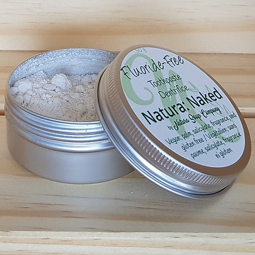 Fluoride-Free Tooth Powder