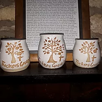 Tuckers Grave handmade cider cup